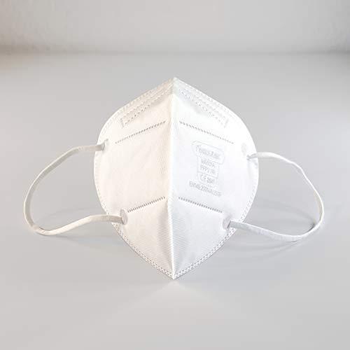 FFP2 Premium Atemschutzmasken in luftdichter Einzelverpackung vom Deutschen Hersteller, 4-Schichten Schutz der Atemwege mit CE (NB2841), 10 STK.