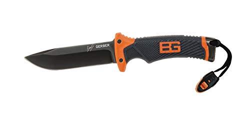 Gerber Bear Grylls Outdoor/Survival-Messer mit glatter Klinge, Ultimate Fixed Blade Knife, Klingenlänge: 12 cm, Rostfreier Stahl, 31-001063