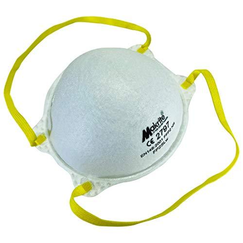 Mund und Nasenschutz Masken Typ FFP 2 - Atemschutzmaske gegen Staub und festen und flüssigen Aerosolen - 20 Stück pro Packung