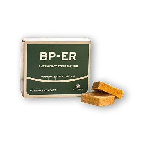 BP ER Elite Emergency Food 500 Gramm Einheit Langzeitnahrung für Outdoor, Camping, Survival und in Krisensituationen (BPA-frei und Produkt hermetisch versiegelt)