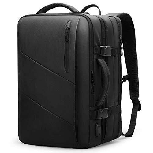 Mark Ryden Laptop-Rucksack, 38 L wasserdichter Business-Handgepäck Rucksack Diebstahlsicherer Rucksack für Herren, Flugerlaubnis, Schulreiserucksack, für 17/15,6-Zoll-Laptop, mit USB-Ladeanschluss