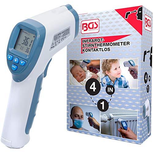 BGS 6006 | Infrarot-Thermometer | kontaktlos | Fieberthermometer | für Baby, Kind & Erwachsene / Objekte