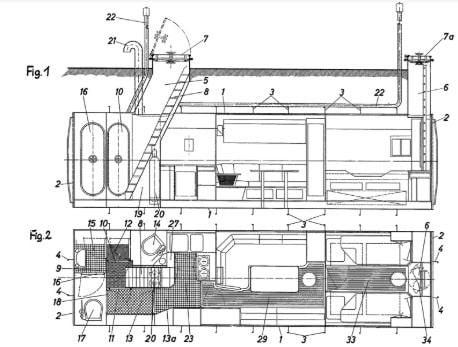 Bunker-Bauplan